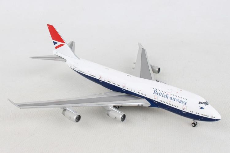 "Phoenix British Airways Boeing 747-400 ""100 Retro Negus"" G-CIVB 1/400"