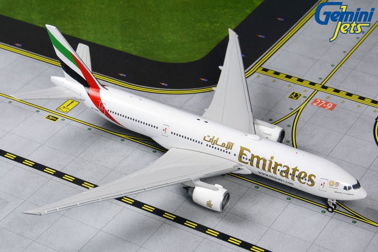 GeminiJets Emirates Boeing 777-200LR A6-EWI 'EXPO 2020 Logo' 1/400 GJUAE1907