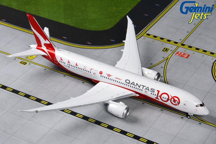 GeminiJets Qantas Boeing 787-9 VH-ZNJ 'Qantas 100 Livery' 1/400 GJQFA1902