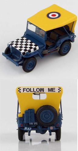 HobbyMaster Jeep Willys RAF 'Follow me' 1/48 HMG1613
