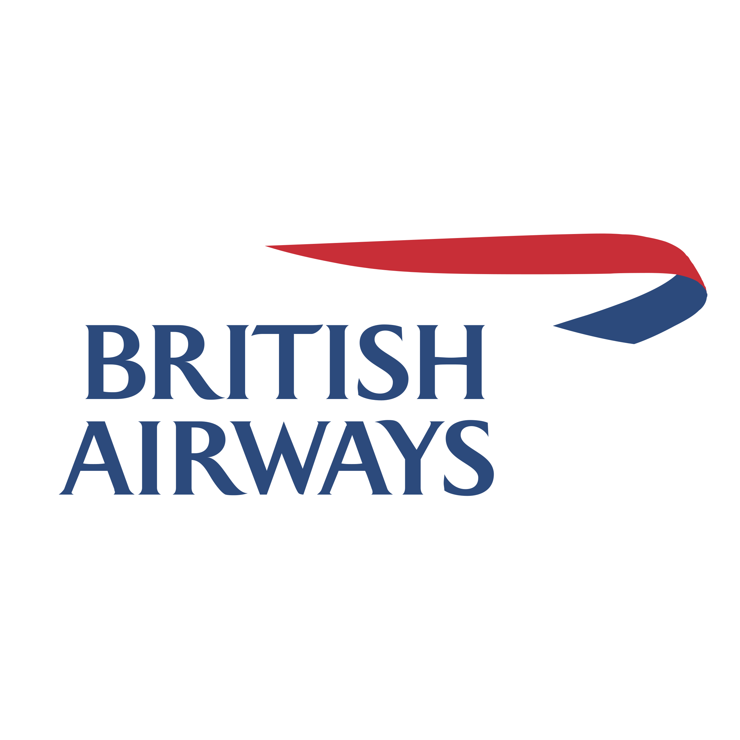 British Airways diecast model planes