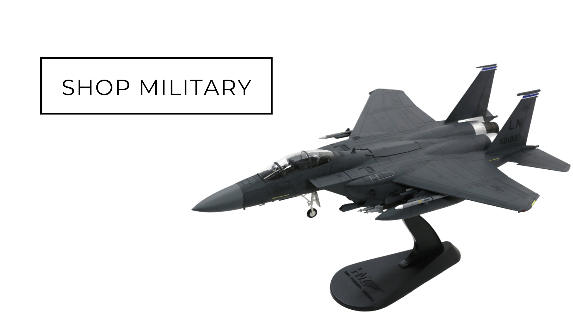 Military aircraft models from the best brands at Aircraft Model Store