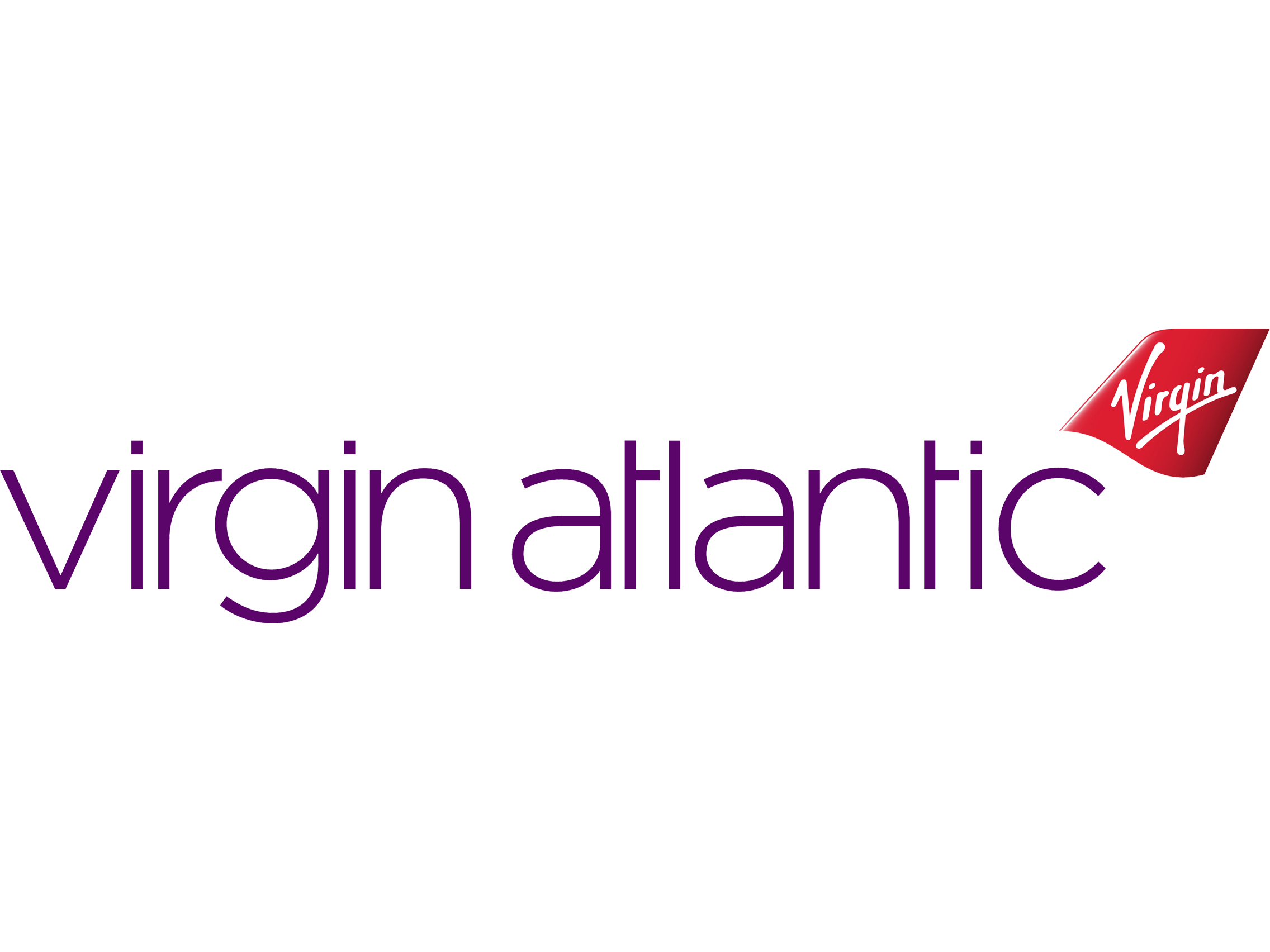 Virgin Atlantic diecast model planes
