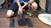 Original Foam Roller System: deck, foam roller system and cushion