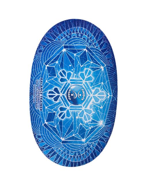 INDO BOARD Original Balance Board Deck - Snowflake