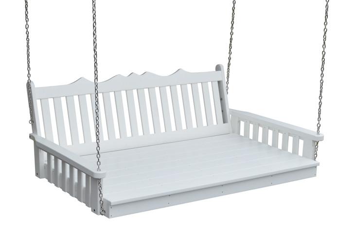 A&L Furniture Poly Royal English Swingbed