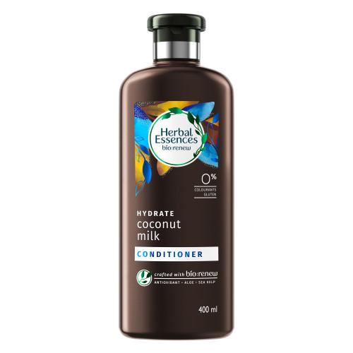 Herbal Essences Bio:Renew Coconut Milk Conditioner, 400Ml | No Parabens No Colourants