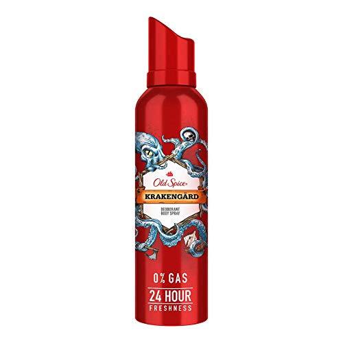 Old Spice Krakengard No Gas Deodorant Body Spray Perfume, 140 ml