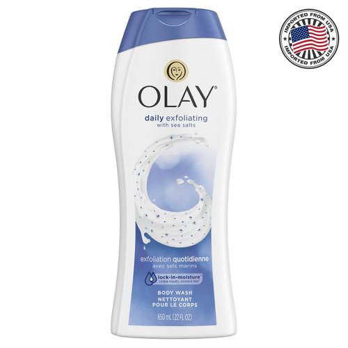 Olay Body Wash Daily Exfoliating 650 ml