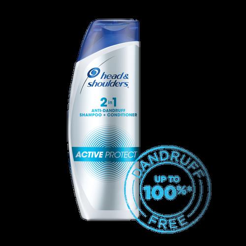 Head & Shoulders 2-in-1 Active Protect Anti Dandruff Shampoo+Conditioner, 340ml