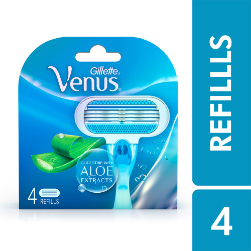 Venus Razor Refills for Women - 4 pieces