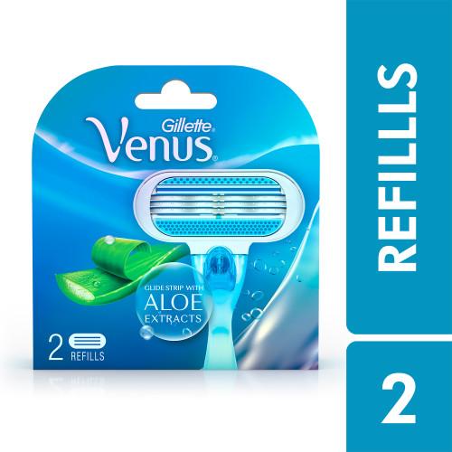 Venus Hair Removal Razor Refills for Women - 2 pieces