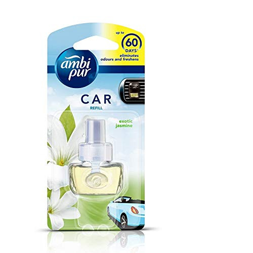 Ambi Pur Exotic Jasmine Car Air Freshener Refill (7.5 ml)