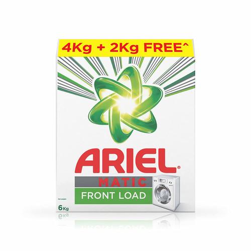 Ariel Matic Front Load Detergent Powder - 4 kg + 2 kg