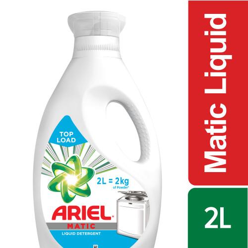 Ariel Matic Liquid Top Load , 2 Litre
