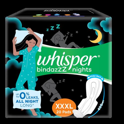 Whisper Ultra Nights XXXL Sanitary Pads - 20s