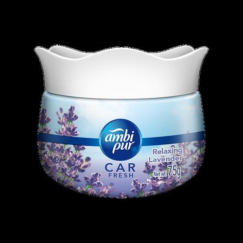 Ambi Pur Car Freshener Gel – Relaxing Lavender 75 g