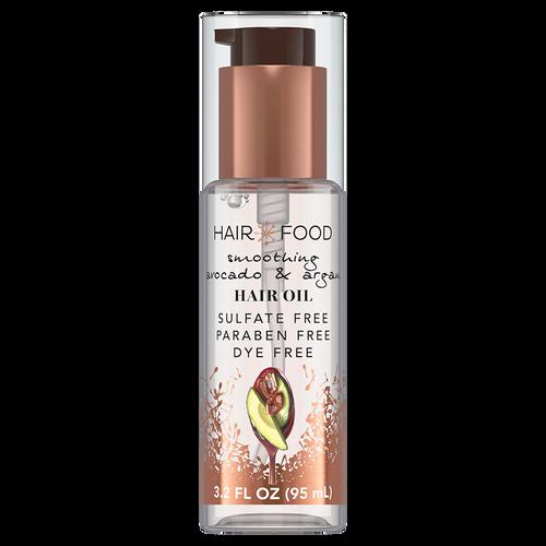 Hair Food Smoothing Argan & Avocado Hair Oil, 95ml