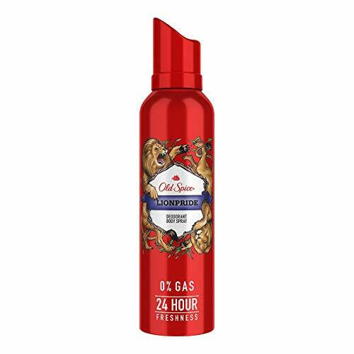 Old Spice- Lionpride No Gas Deodorant Body Spray Perfume, 140 ml