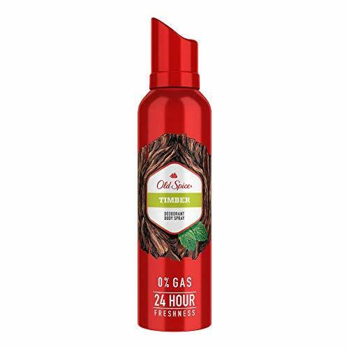 Old Spice- Timber No Gas Deodorant Body Spray Perfume, 140 ml