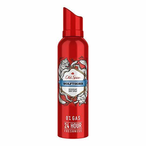 Old Spice- Wolfthorn No Gas Deodorant Body Spray Perfume, 140 ml