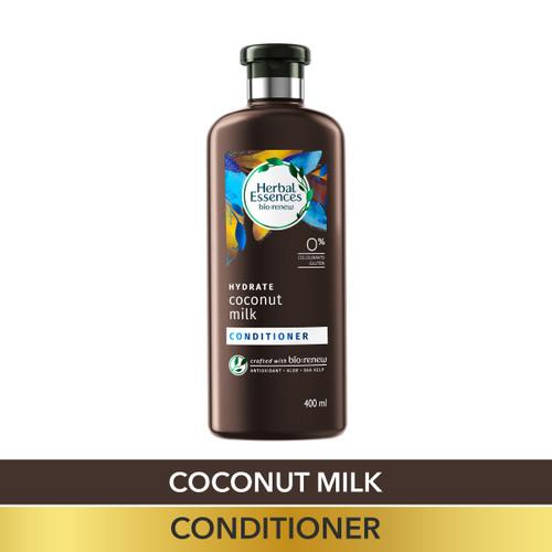 Herbal Essences Coconut Milk CONDITIONER- For Hydration- No Paraben, No Colorants, No Gluten , 400 ML