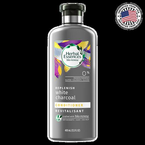Herbal Essences Bio: Renew Replenish White Charcoal Conditioner, 400ML