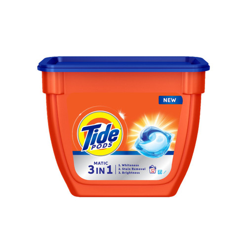 Tide Matic 3in1 PODs Detergent Pack, 32 count