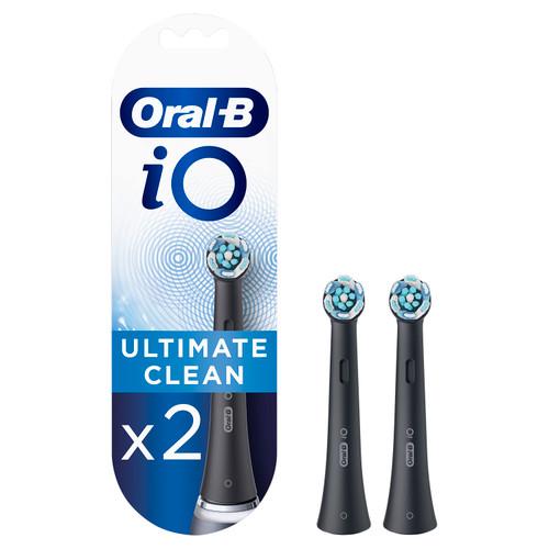 Oral-B Set of 2 iO Ultimate Clean Brushes Black