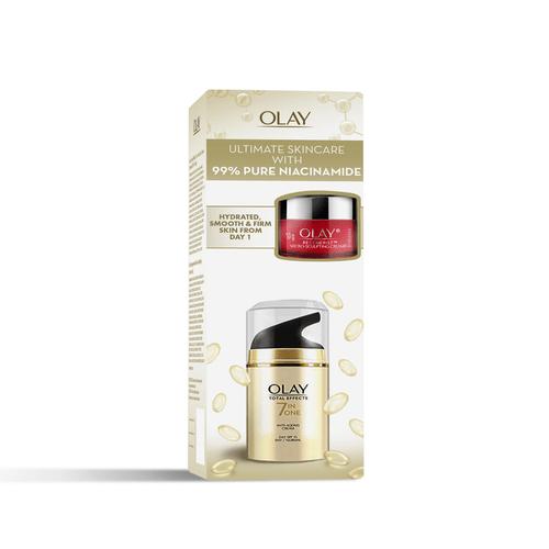 Olay TE Day Cream 50g + Olay Regenerist Micro-sculpting Cream Mini 10g – Ultimate Skincare kit