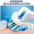 Oral-B Cross Action Toothbrush Heads Pack Of 2 Replacement Refills For Electric Rechargeable