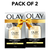 Olay Day Cream: Total Effects 7 in 1, Anti Ageing Mini Moisturiser (SPF 15), 12g - Pack of 2