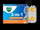 Vicks 3 in 1 Throat Lozenges(Orange), 8 Lozenges