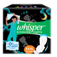 Whisper Ultra Nights XXXL Sanitary Pads - 20 Count