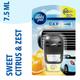 Ambi Pur Sweet Citrus and Zest Car Air Freshener Refill (7.5 ml) - Ambi pur
