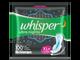 Whisper Ultra Night XL+ Sanitary Pads for Women, 2 Napkins