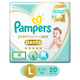 Pampers Premium Care Pants Diapers, Large  (20 Count)