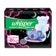 Whisper Ultra Night Sanitary Pads for Women, XXXL+ 8 Napkins