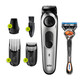 Braun Beard Trimmer BT5260, Hair Clipper for Men, 39 Length Settings,100min runtime, Black/Silver Metal
