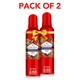 Old Spice Lionpride No Gas Deodorant Body Spray Perfume, 140 ml- Pack of 2