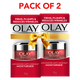 Olay Day Cream: Regenerist Microsculpting Mini Moisturiser (non SPF), 10g - Pack of 2