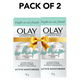 Olay Ultra Lightweight Moisturiser: Luminous Whip Mini Day Cream (non SPF), 10g - Pack of 2