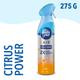 Ambi Pur Citrus Power Odour Eliminating Air Freshener Spray , 275 g (Fresh Boost)