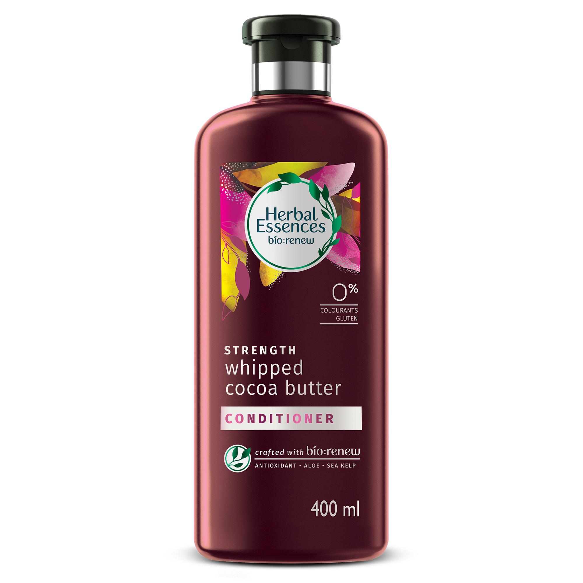 Herbal Essences Bio:Renew Vitamin E With Cocoa Butter Conditioner, 400Ml | No Parabens No Colourants