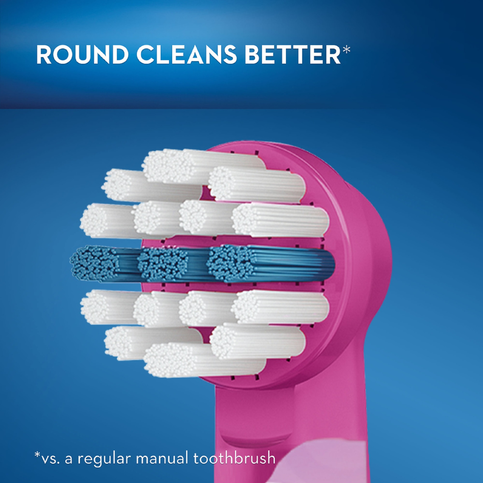 Oral-B Kids Frozen Replacement Heads for Electric Toothbrush