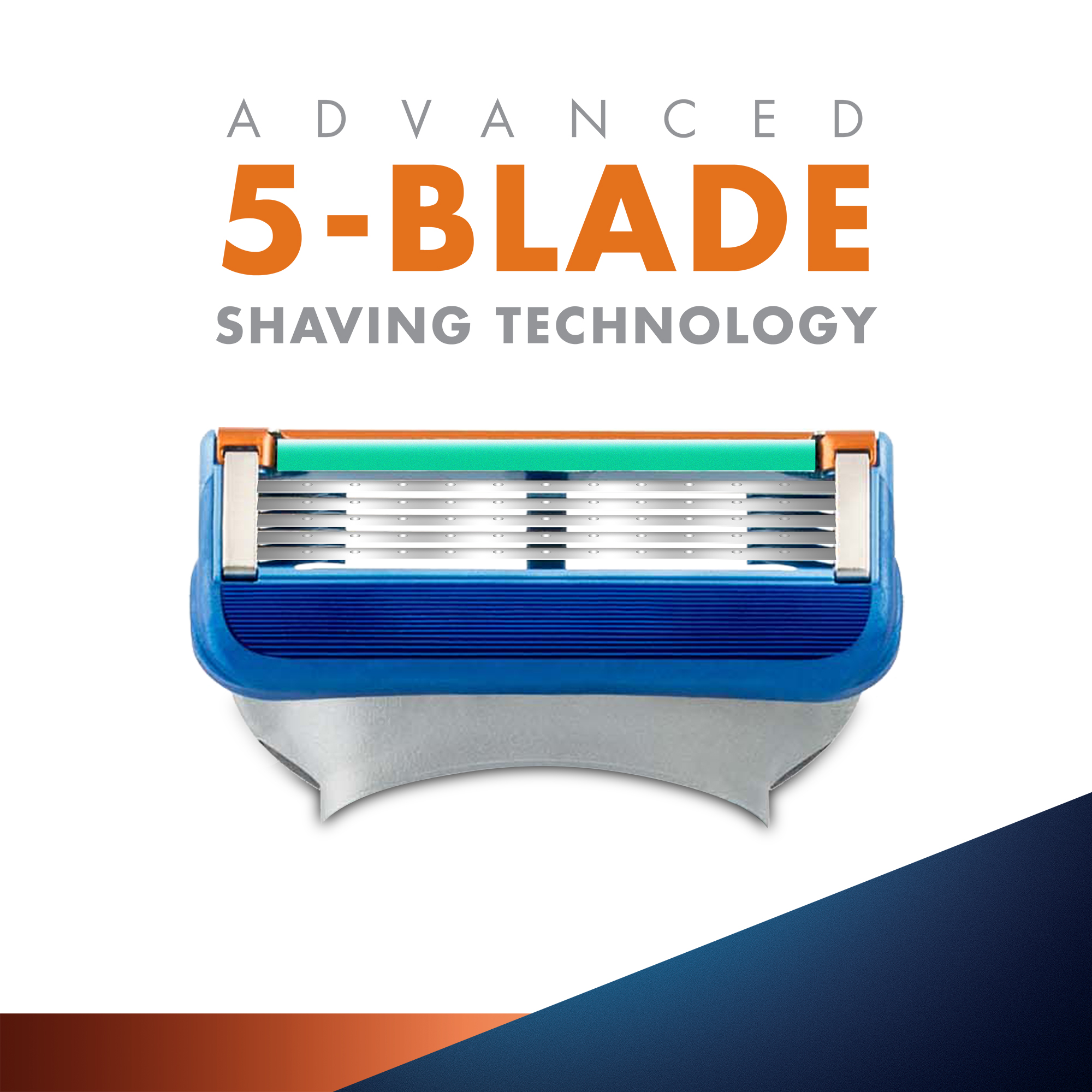 Fusion Blades- Pack of 6 - Gillette