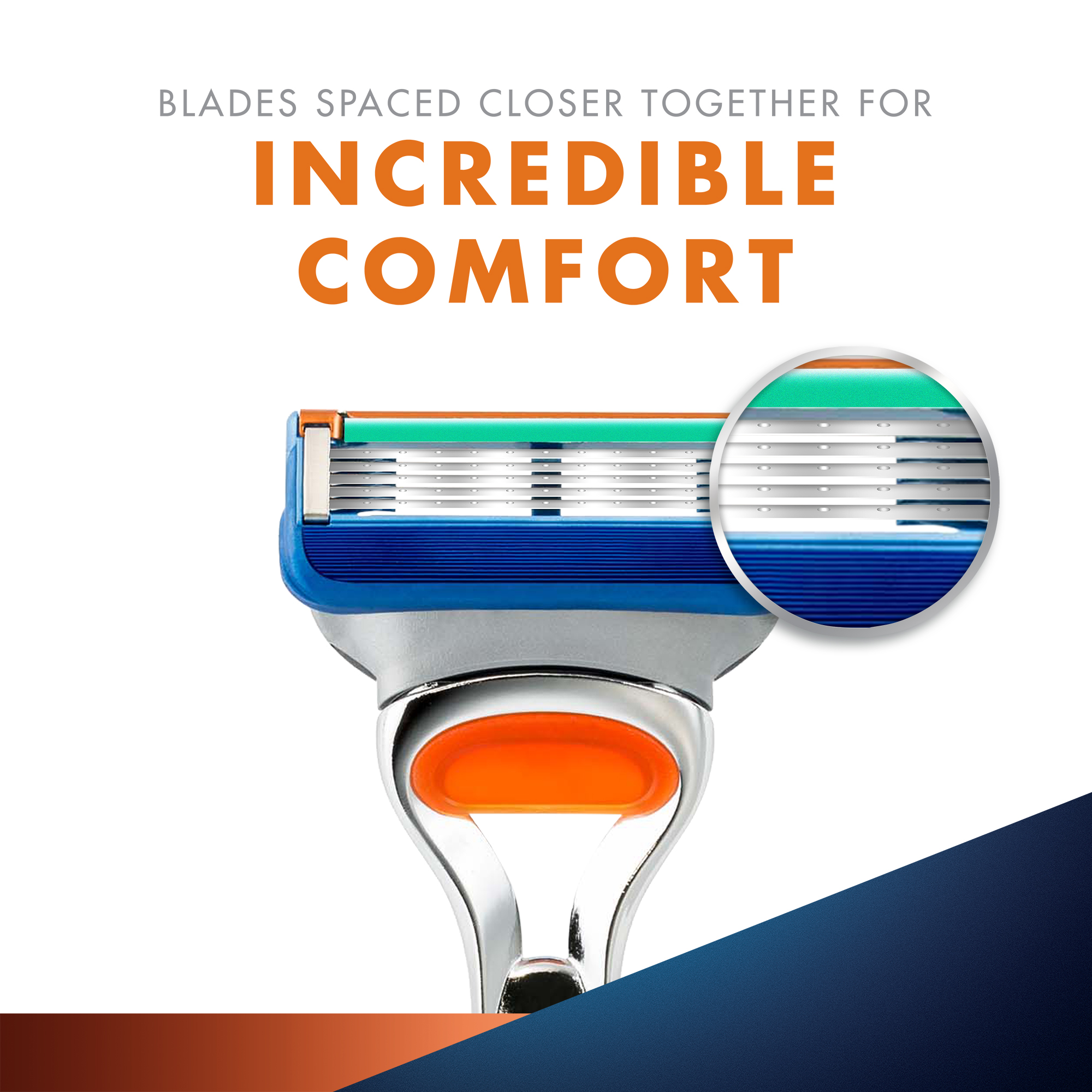 Gillette Fusion Blades- Pack of 10