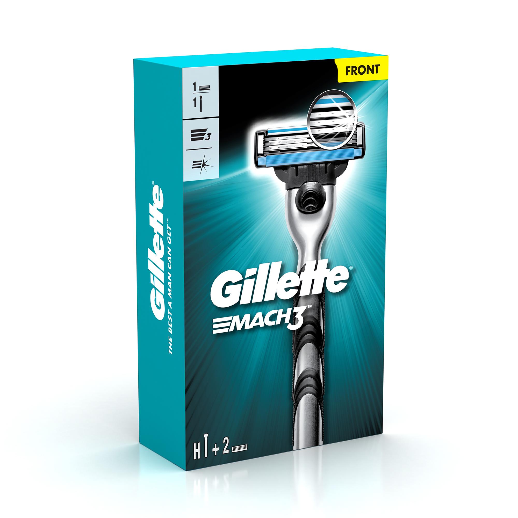 Gillette Mach 3 razor + 1 Shaving Blade