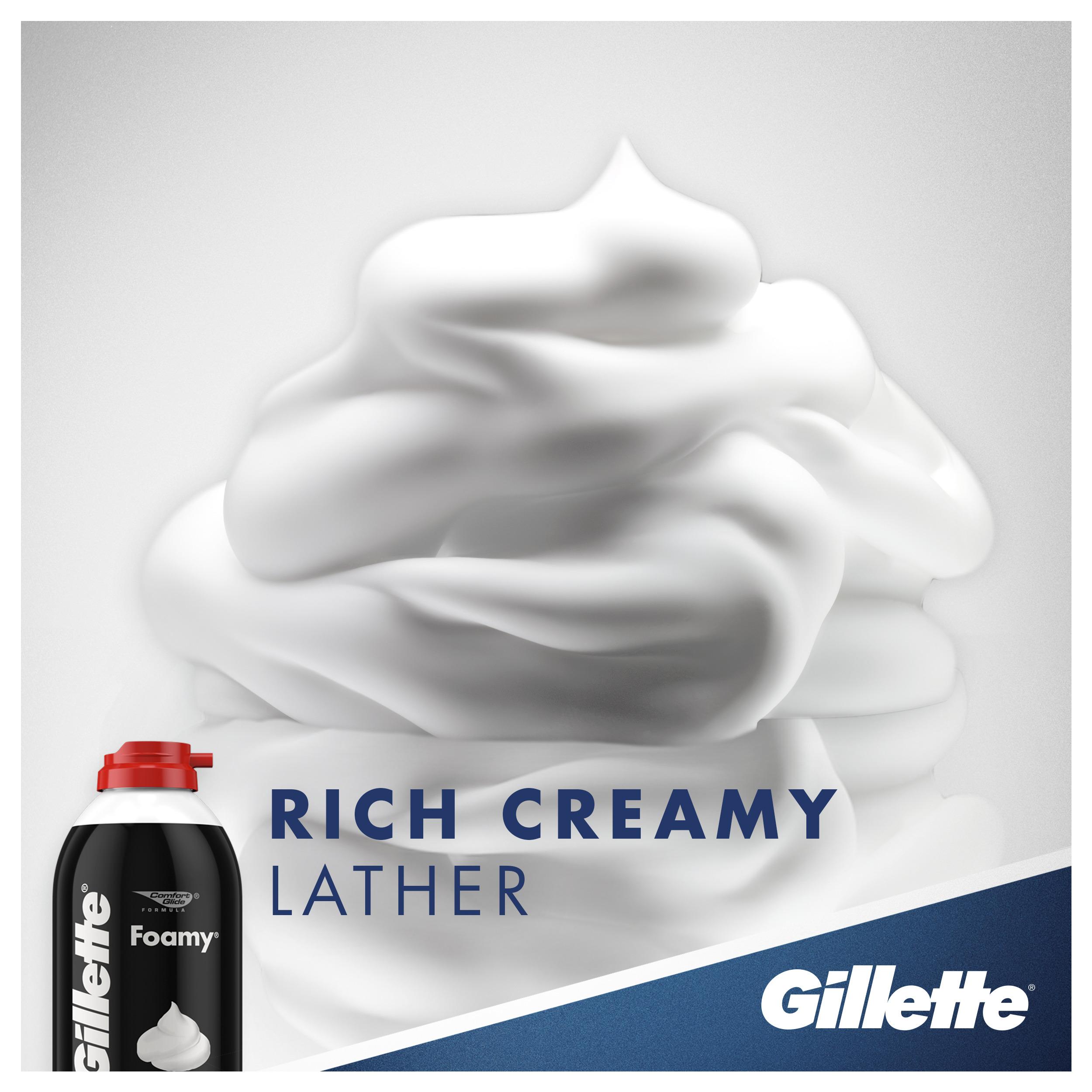 Gillette Pre-Shave Foam- 418gms