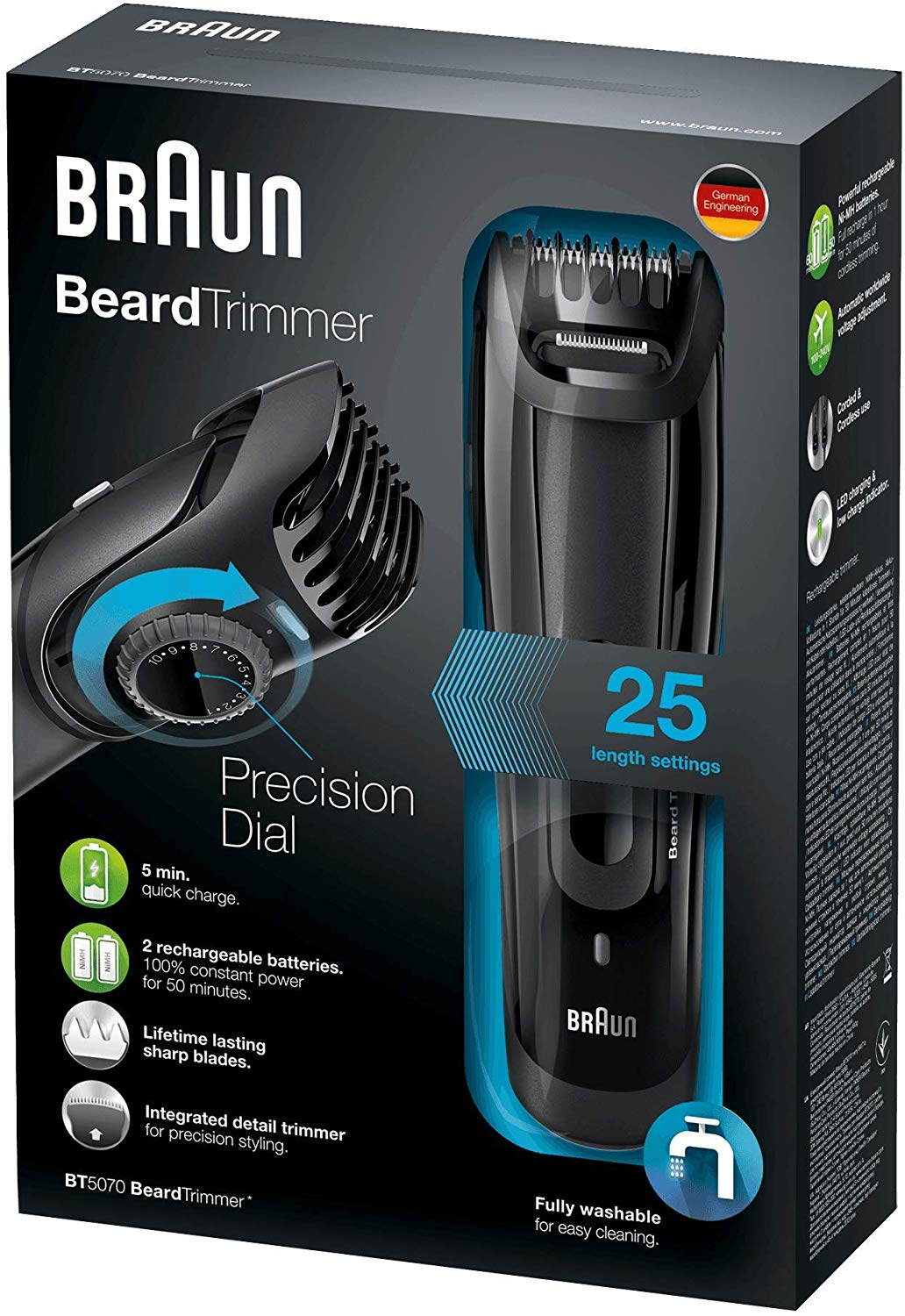 Braun Beard Trimmer BT5070